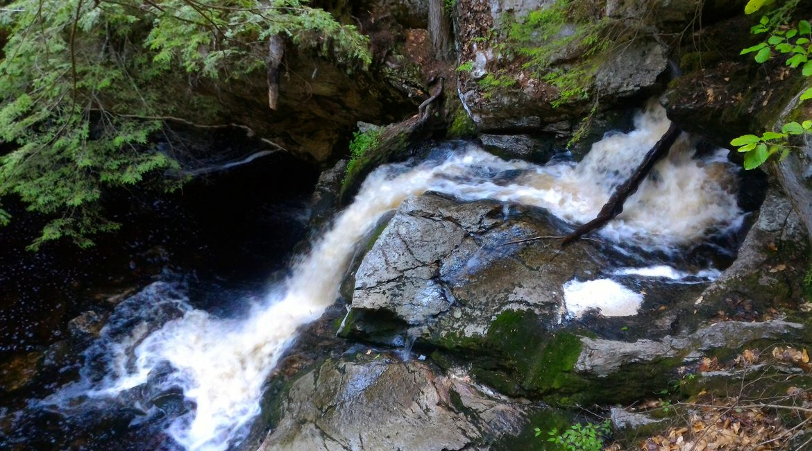 Upper & Middle Purgatory Falls via Purgatory Brook Trail