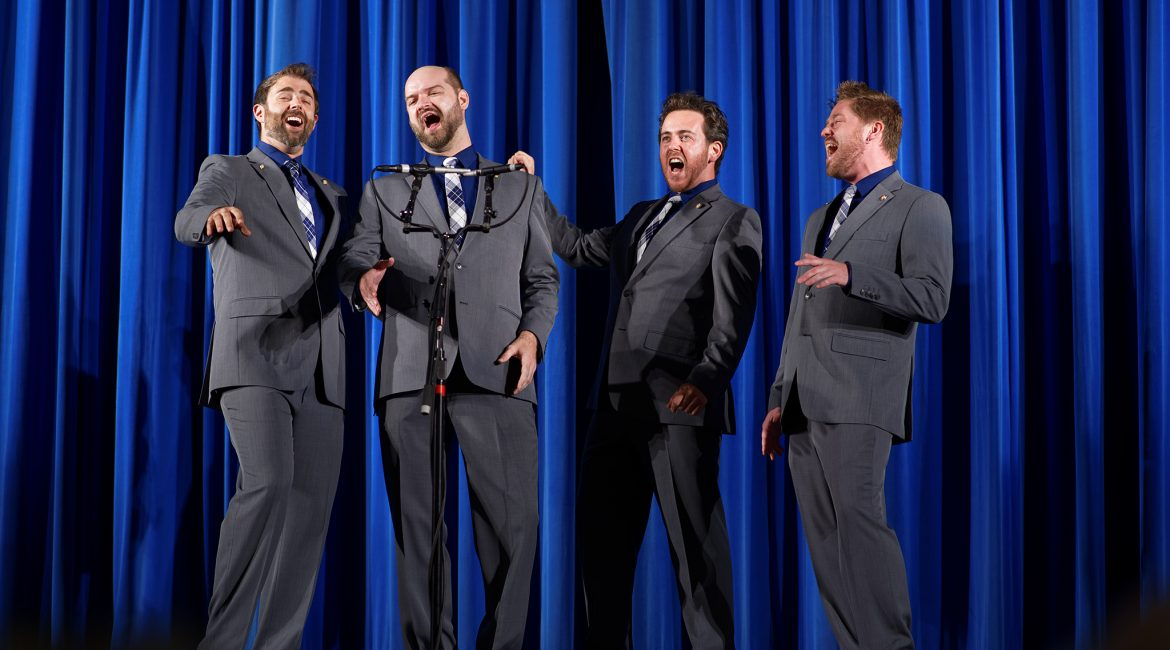 Barbershop Quartet Harmony Showcase – Drive, Voce, Signature