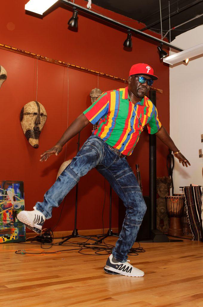 Desire African dancer