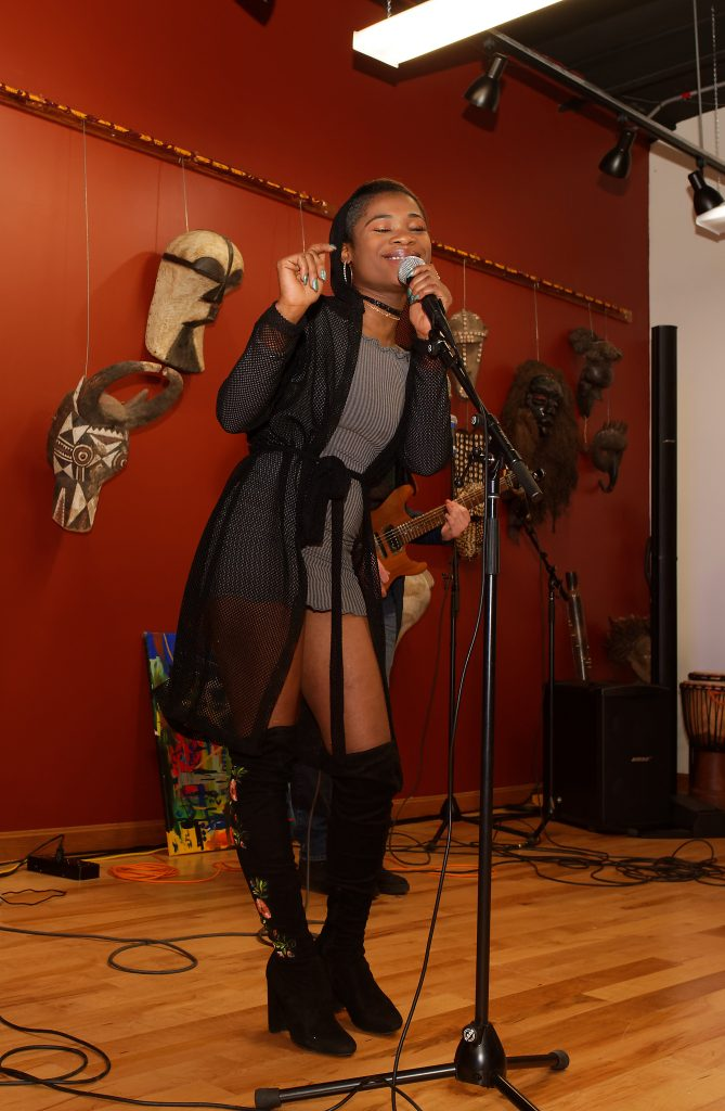 Singer Fanta performing at Crocodile River Music